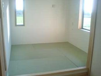 診察室畳の部屋